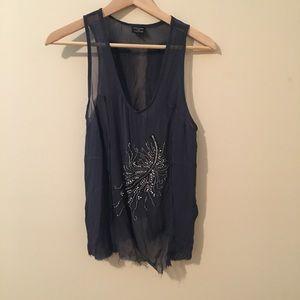 Topshop X Kate Moss | Silk Blouse